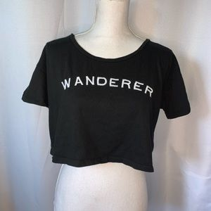 Wanderer crop top